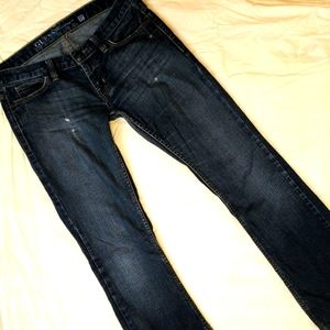 Guess Distressed Bootcut Jeans 27